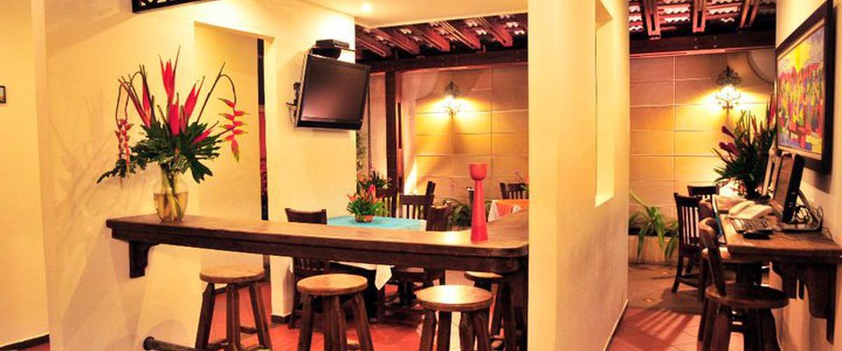 SALÓN TV Hotel Boutique San Antonio